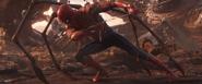 Iron Spider Pulling Down Thanos
