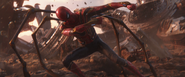 Iron Spider Pulling Down Thanos