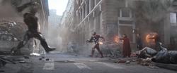 Attack on Greenwich Village