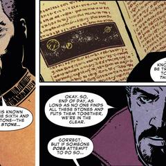 Wong revela que no se sabe nada sobre la Gema del Alma.