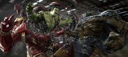 Hulk vs Cull Obsidian concept art 1