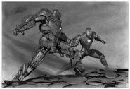 Iron Man 2 2010 concept art 9