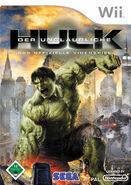 Hulk Wii DE cover
