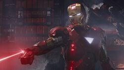 IronMan-FixingHelicarrier-Laser