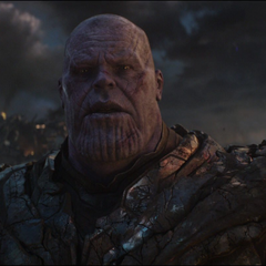 Thanos descubre que sus aliados van a morir.