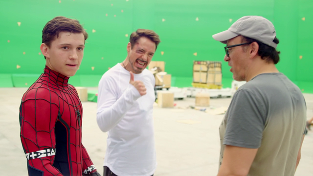 File:Tom Holland, RDJ & Joe Russo (The Making of CACW).png
