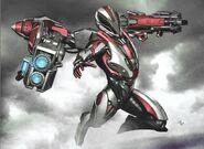 Avengers Endgame Rescue concept art 2