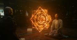 Strange viendo el poder de Ancestral