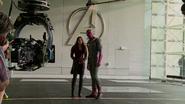 Wanda and Vision - New Avengers Facility (AoU BTS)