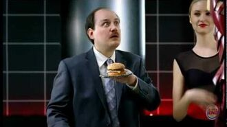 Burger King Iron Man Suit Prototype Commercial, Director's Cut
