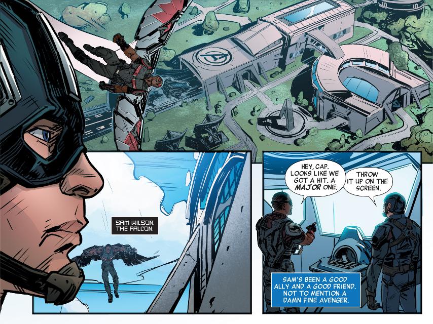 Captain America Civil War Prelude Infinite Comicgallery Marvel