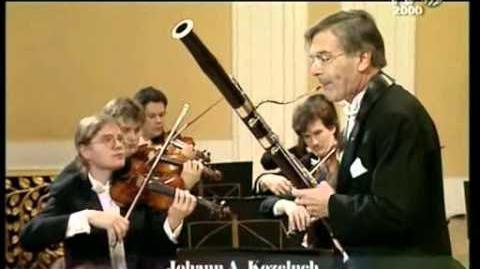 Concerto in Do maggiore per fagotto e orchestra - Larghetto - J. A