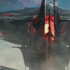 Heimdall ve a los Elfos Oscuros invadir Asgard.