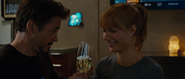 Tony Stark & Pepper Potts (IM2)