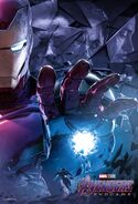 Endgame Iron Man Poster