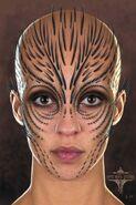 Raina Face Concept Art 2