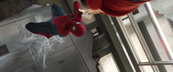 Spider-Man saves Liz (Washington Monument)
