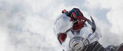 SpiderManClimbingOnGiantMan