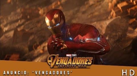 Vengadores Infinity War de Marvel Anuncio 'Vengadores' HD