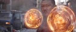 Wong Using Eldritch Magic