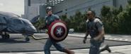 Cap & Falcon Running (TWS)