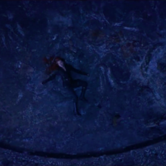 Romanoff cae muerta del acantilado.