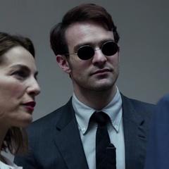 Murdock habla con Wilson Fisk.