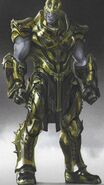 Warlord Thanos concept art 7