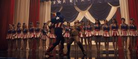 Cap punches Hitler