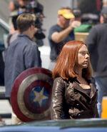 Film set pic Captain America 2 10