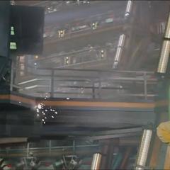 Gamora se dirige a la torre de vigilancia.