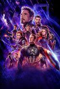 Avengers Endgame Textless Poster