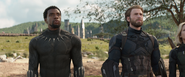 Black Panther & Captain America