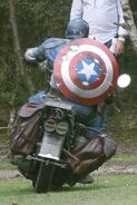 Captain America behind the scenes 13
