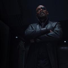 Fury le revela al Consejo que no conoce el paradero de los Vengadores.