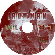 Ironman wii us disc