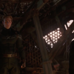 Romanoff y Rogers son testigos del asesinato de Thanos.