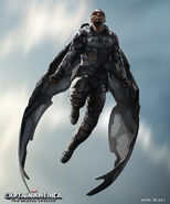 Captain America The Winter Soldier 2014 concept art 46
