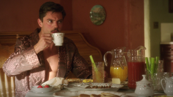 Howard Stark - Cup of Coffee