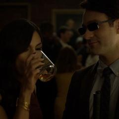 Murdock y Elektra tienen su primer encuentro.