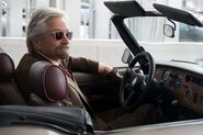 Pym in car