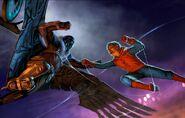 SMH Concept Art Vulture x Spider-Man