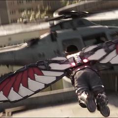 Wilson ataca el helicóptero.