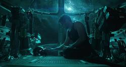 Stark graba un mensaje