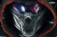 Taskmaster eyeing up Black Widow - Promotional Pic