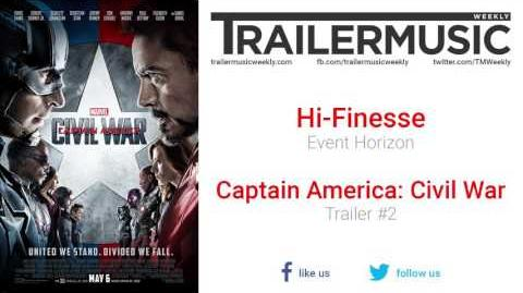 Captain America Civil War - Trailer 2 Music 2 (Hi-Finesse - Event Horizon)