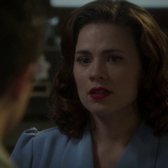 Carter le dice a Stark que es arriesgado exponerse.