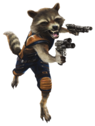 Rocket GOTG Vol. 2 Render