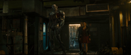 Ultron & The Twins approach The Avengers