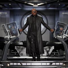 Fury toma el control del Helicarrier.